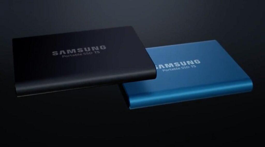 ssd samsung t5 1 to le meilleur disque dur portable du. Black Bedroom Furniture Sets. Home Design Ideas
